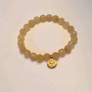 Satya Yellow Stretch Bracelet